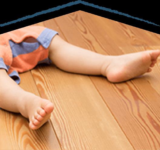 足触り最高の無垢フローリング